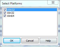 SelectPlatforms
