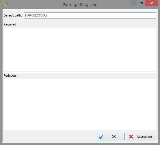 Screenshot Package Magician